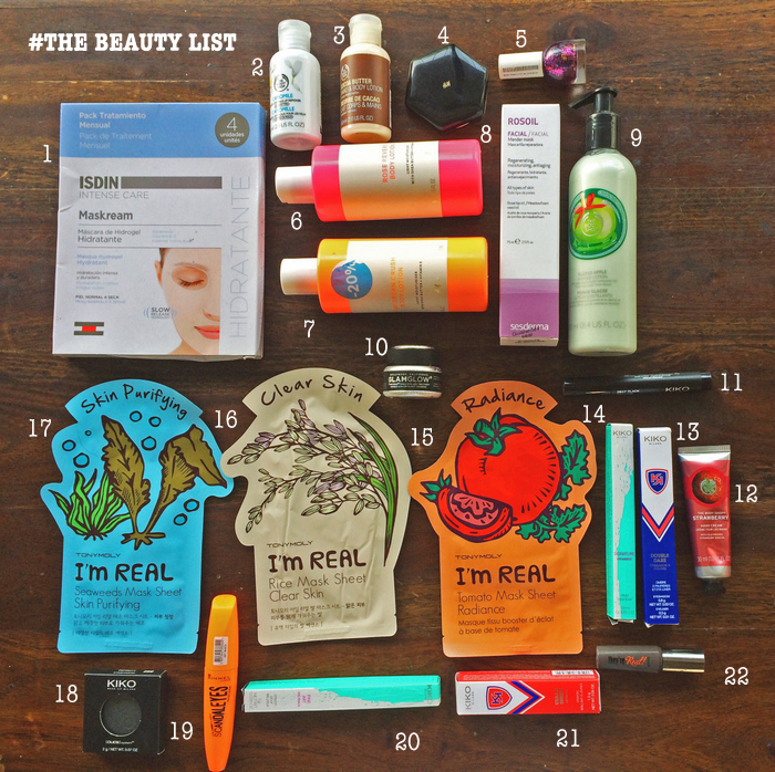 My Beauty Shop: Beauty Products I Shopped For In Spain! (*Psst, some Spanish, some universal, manyawesome)